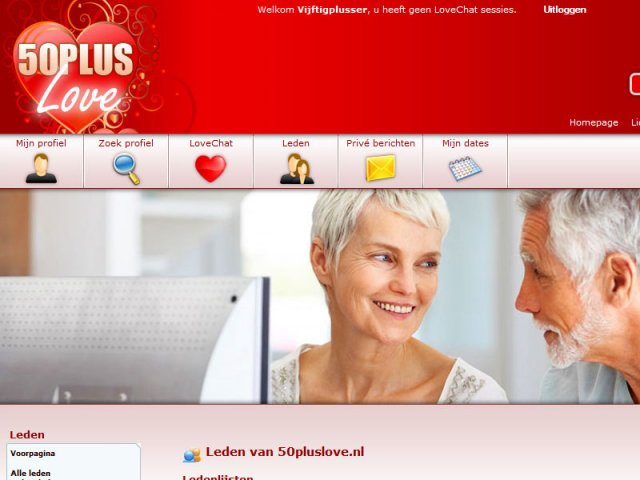 datingsite 50 plus Velsen